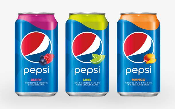 Pepsi bolsters flavour portfolio with berry, lime and mango colas