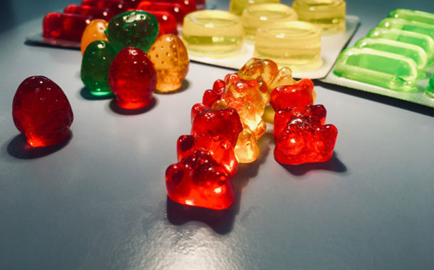 Rousselot and Pharmatec produce fortifed gummies using SiMoGel