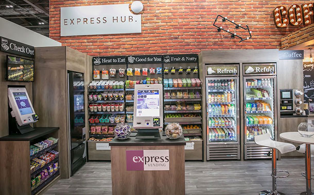 Selecta announces UK-wide roll out of Express Hub Micromarket