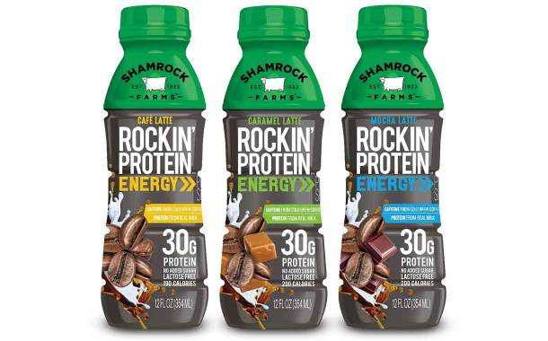 Shamrock Farms launches Rockin' Protein Energy range with coffee