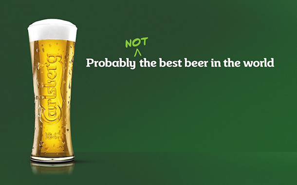 'Probably not': Carlsberg changes tack with bold new ad campaign