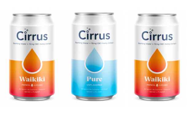 Cirrus releases new CBD-infused sparkling water range