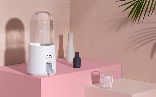 Evian to launch sustainably-designed domestic water dispenser