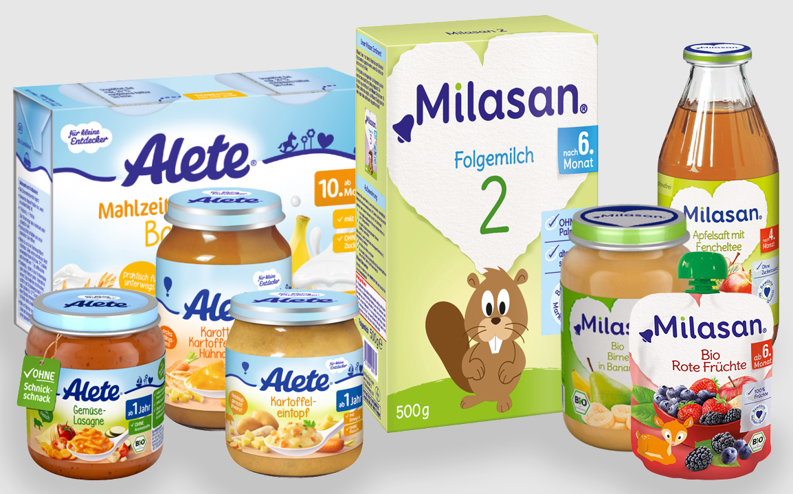 Germanys Dmk Announces Deal For Baby Food Producer Alete