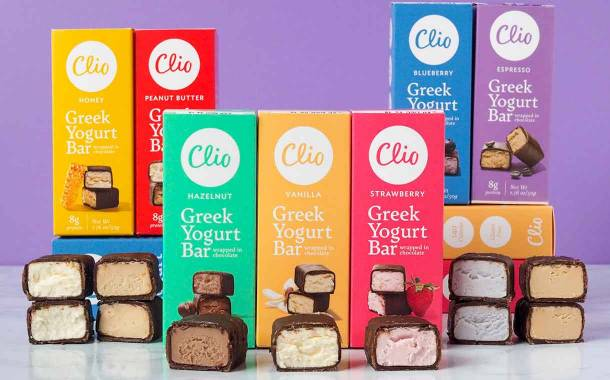 Clio turns to new consumption occasions with Greek yogurt bars