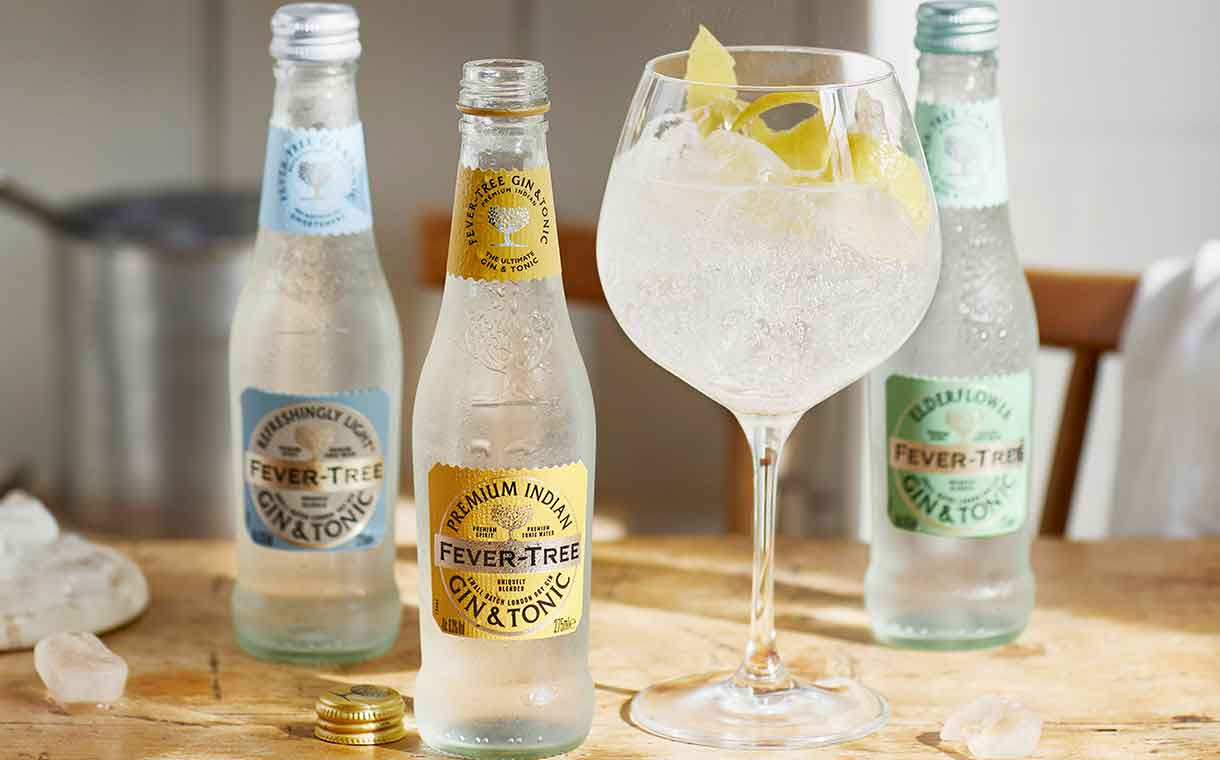 Fever-Tree releases range of ready-to-drink gin and tonics
