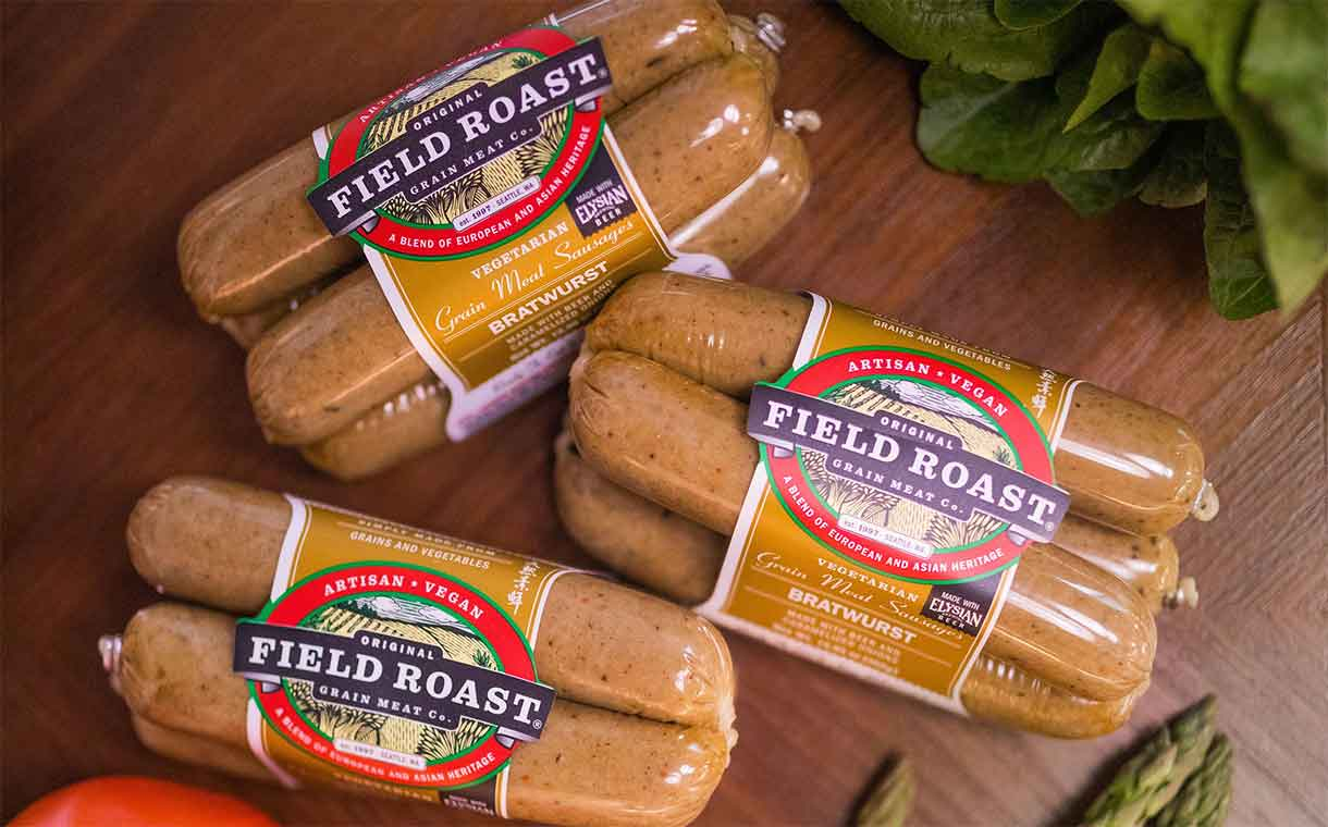 Field Roast and US brewer create beer-infused vegan bratwurst