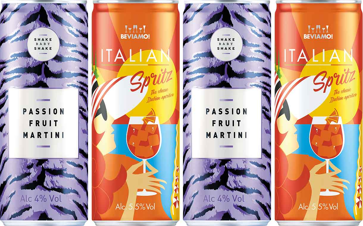 Global Brands debuts two ready-to-drink cocktail ranges in the UK