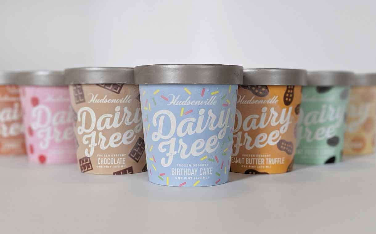 Hudsonville Ice Cream introduces dairy-free dessert range in the US