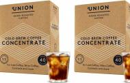 Union Hand-Roasted Coffee releases Cold Brew Concentrate