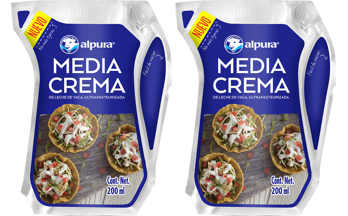 Mexico's Alpura uses Ecolean packaging for cooking cream