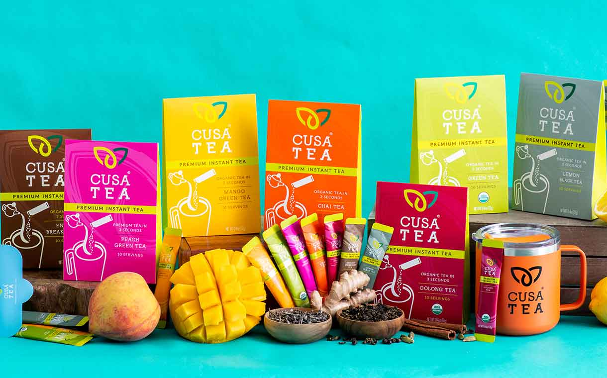 Cusa Tea secures funding to boost new product development