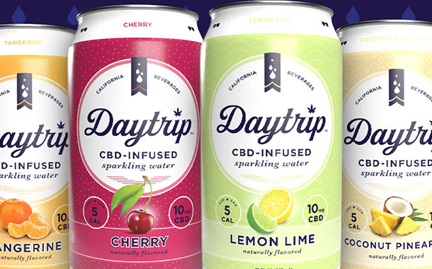 Daytrip launches new CBD-infused sparkling water range