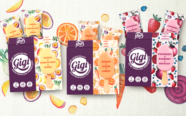 Straight Forward Design creates packaging for gelato brand Gigi