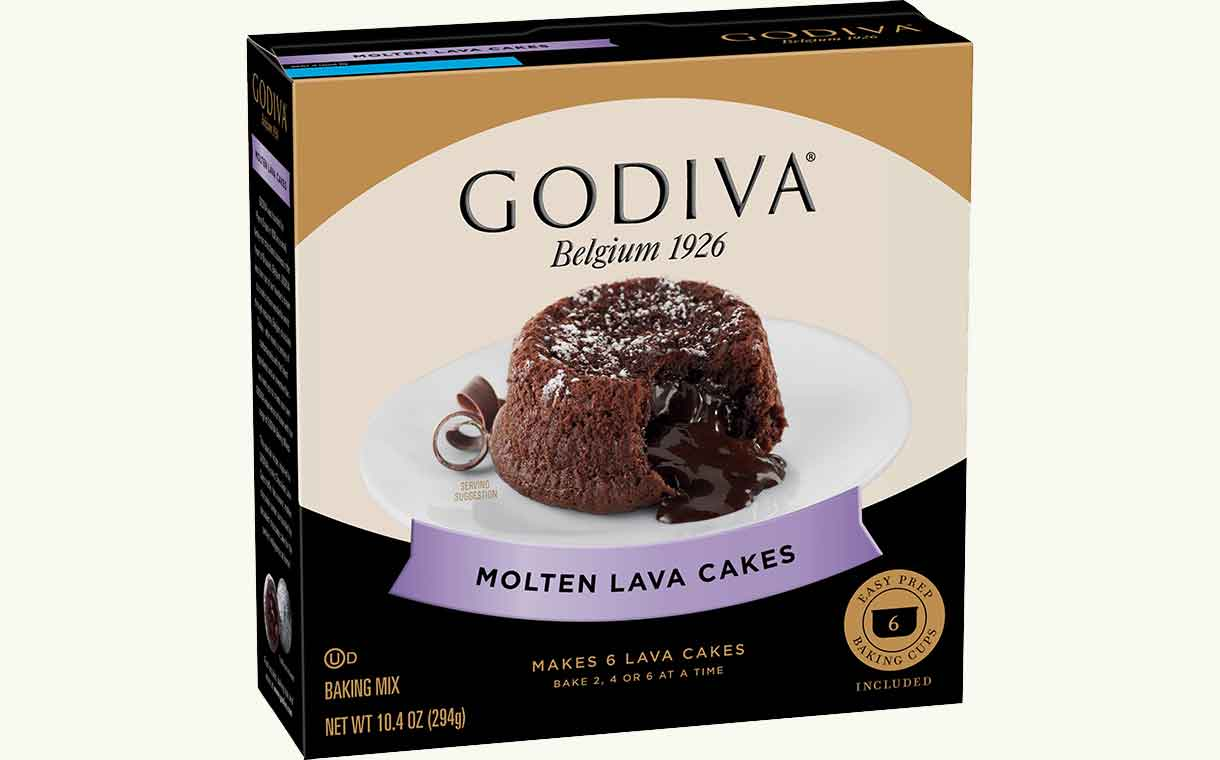 Godiva collaborates with General Mills to create new baking mixes