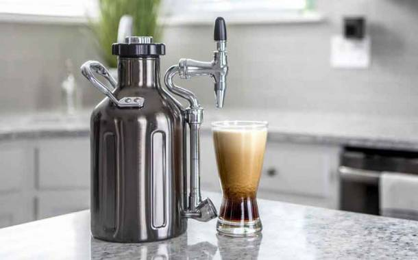 GrowlerWerks develops uKeg nitro cold brew coffee maker