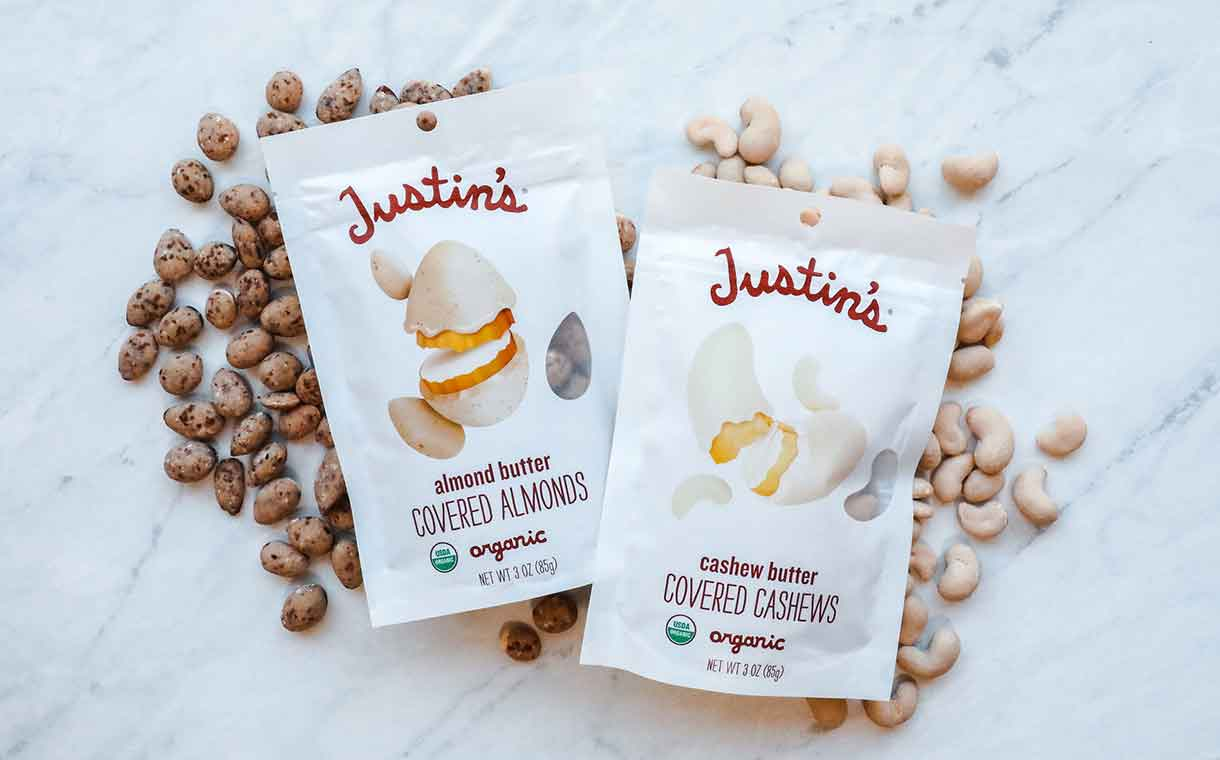 Hormel adds to Justin's portfolio with new nut butter-covered nuts