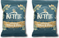 Kettle Chips introduces crisps with olive and feta seasoning