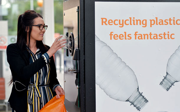 Sainsbury's launches reverse vending trial and will introduce water refill stations