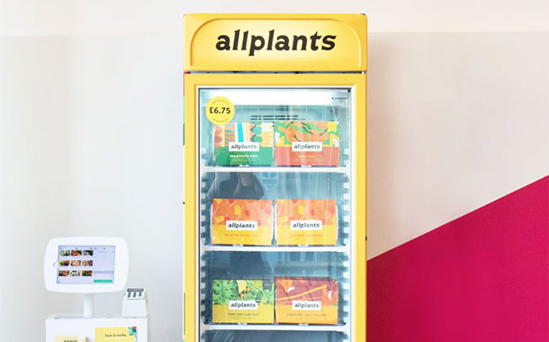 Allplants launches self-checkout freezer pilot in the UK