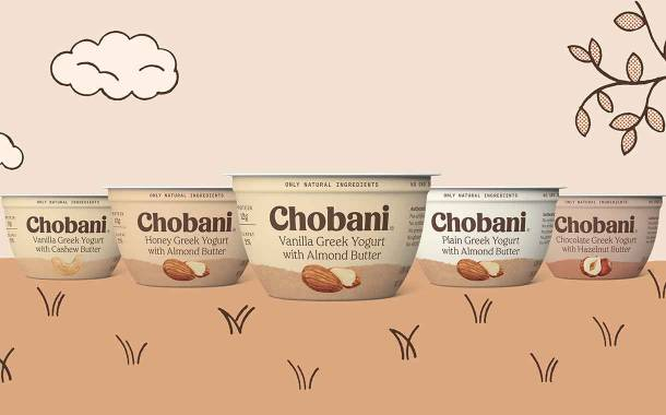 Chobani releases new range of yogurts paired with nut butters