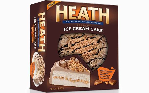 Rich Products launches ice cream cake with Heath chocolate pieces