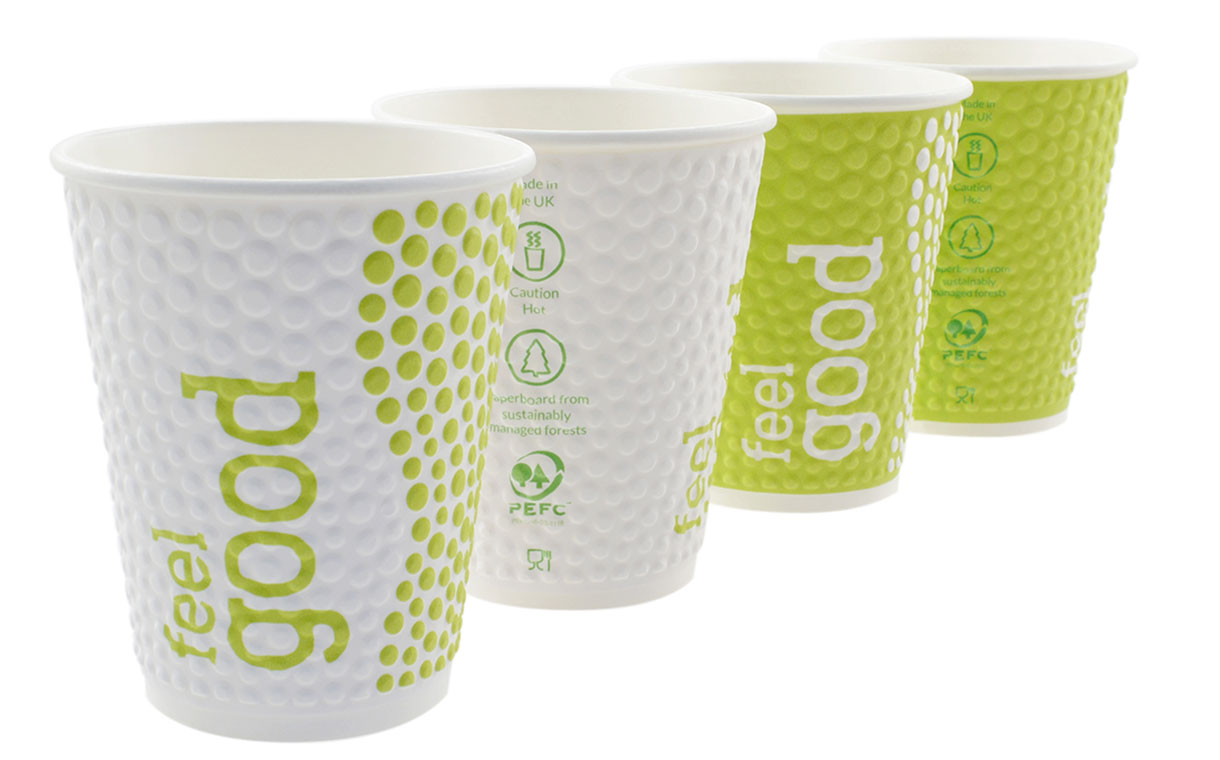 Huhtamaki releases new double-walled compostable cup