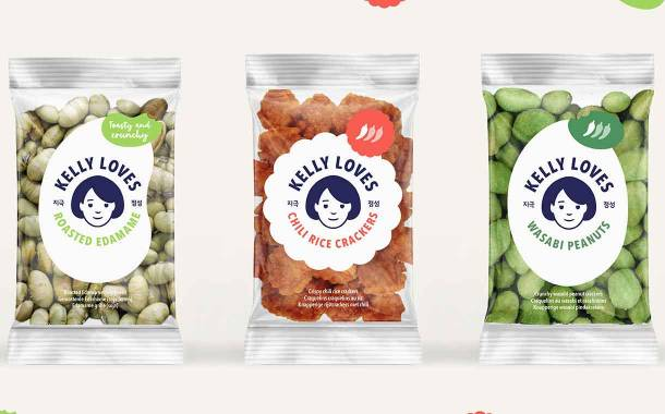 Asian food brand Kelly Loves launches snack range in Europe
