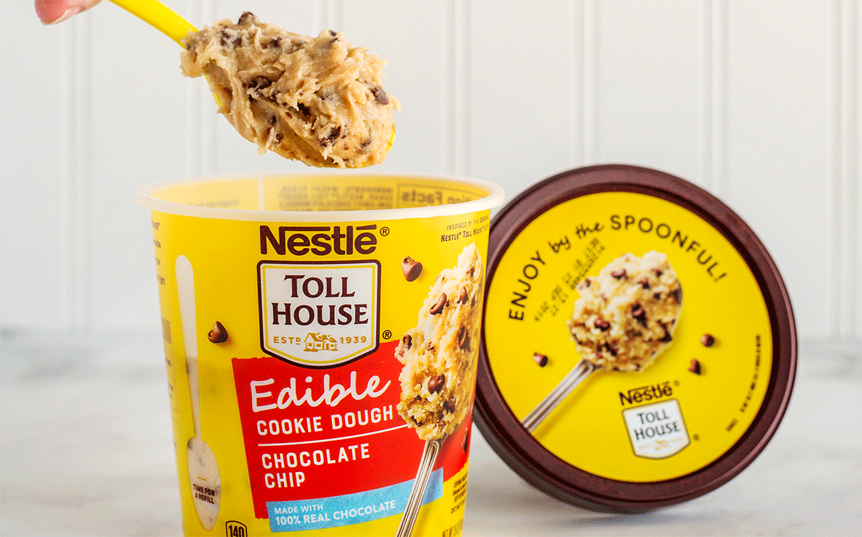 Nestlé Toll House introduces Edible Cookie Dough line in US