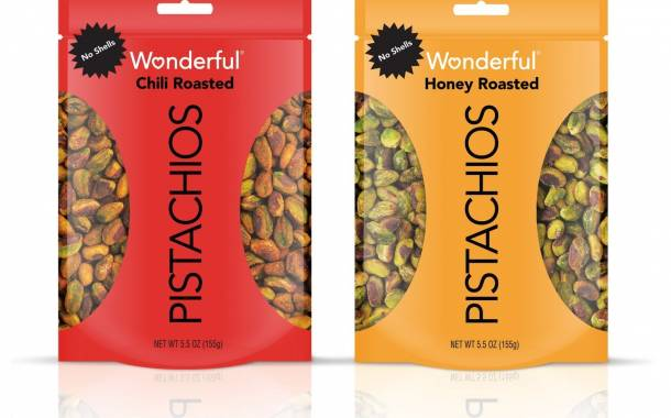 Wonderful Pistachios releases two new variants without shells