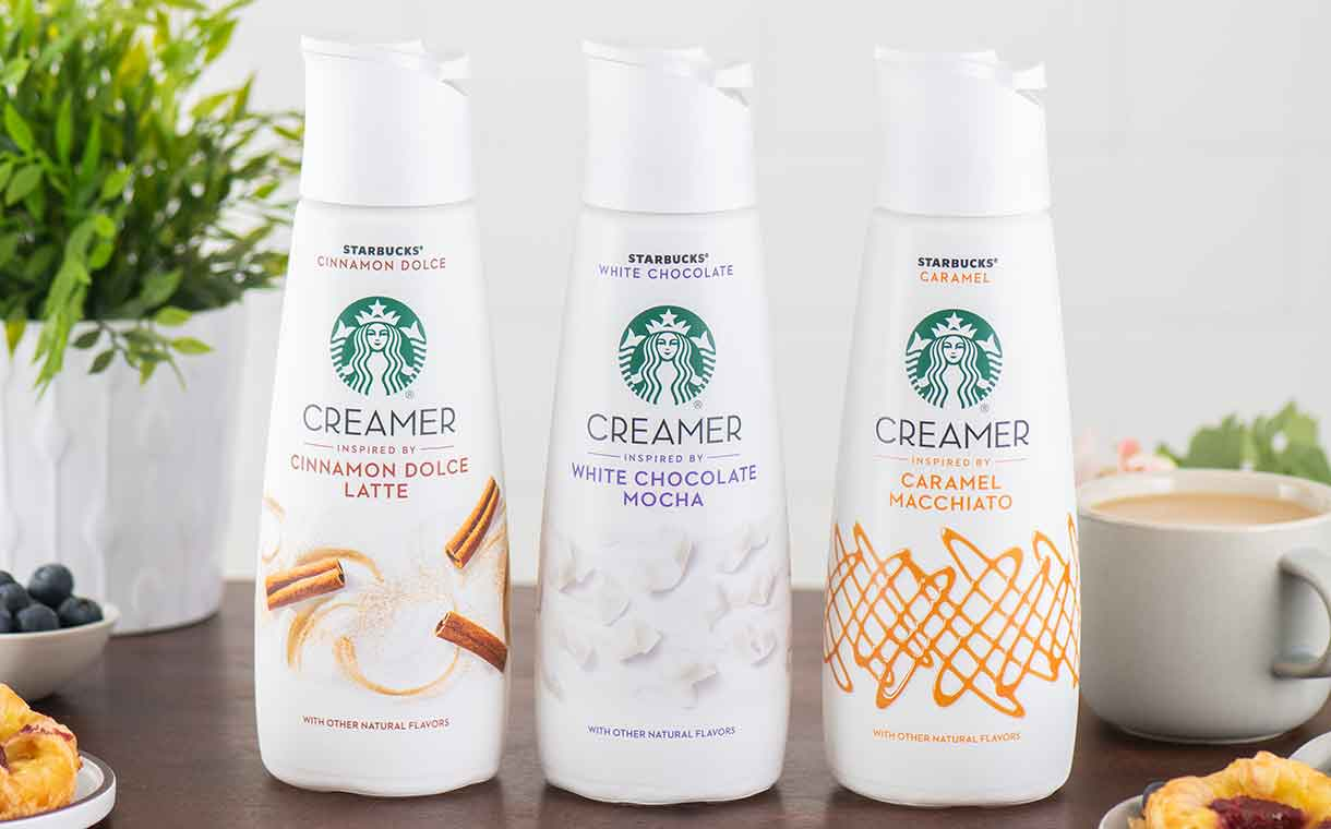 Starbucks launches refrigerated creamers through Nestlé alliance