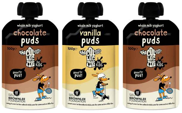 The Collective introduces Puds range of yogurt pouches in UK
