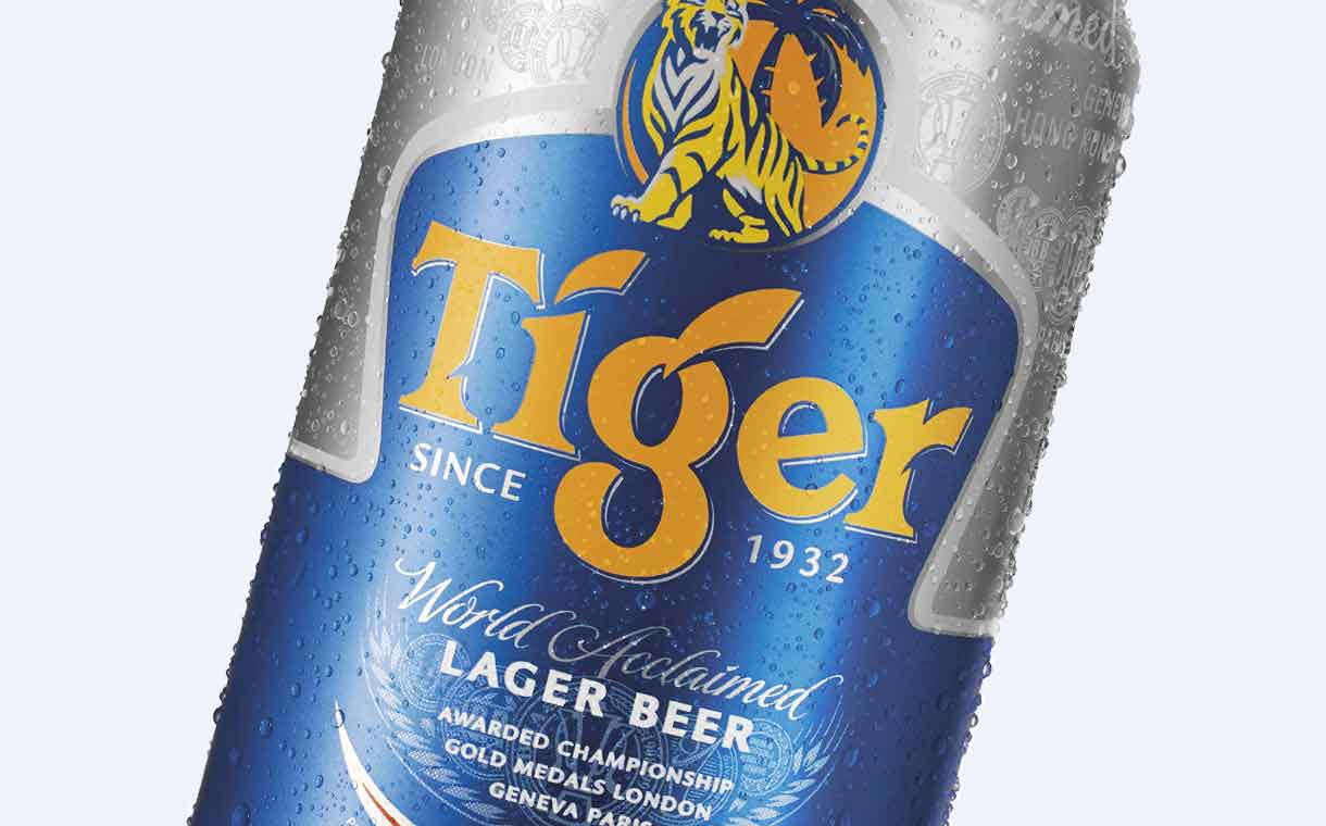 Heineken benefits from strong Tiger beer sales during first half