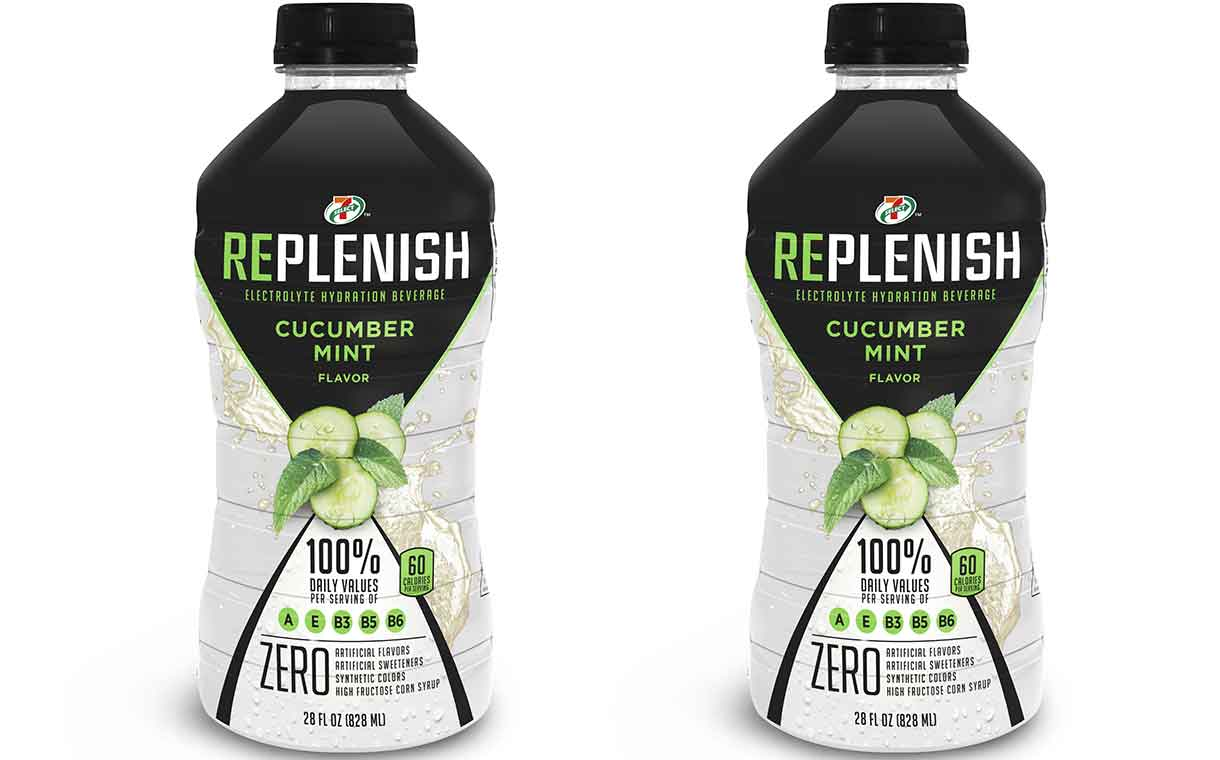 7-Eleven introduces 7-Select Replenish isotonic beverages
