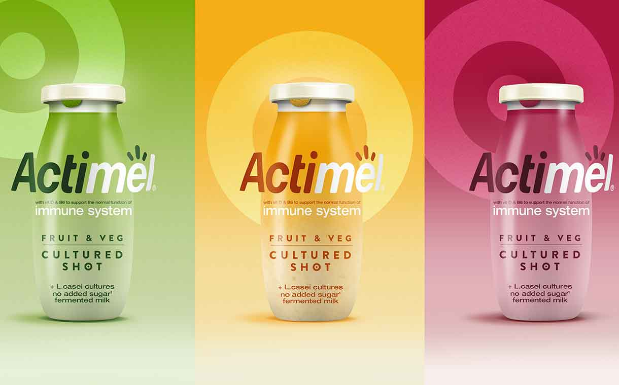 Danone, Dragon Rouge partner for launch of new Actimel shots