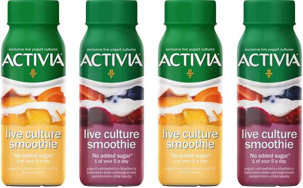 Danone introduces Activia Live Culture Smoothies range in UK