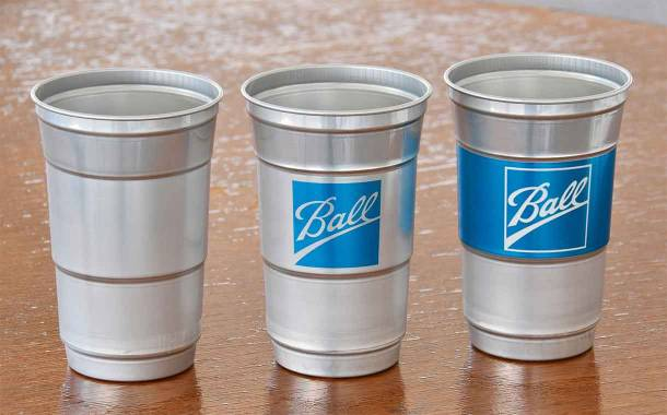 Ball trials new aluminium cup in move to reduce plastic waste