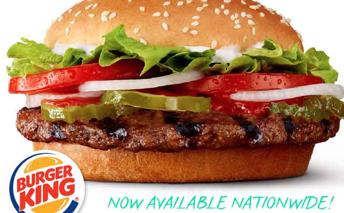 Burger King debuts plant-based Impossible Whopper across US