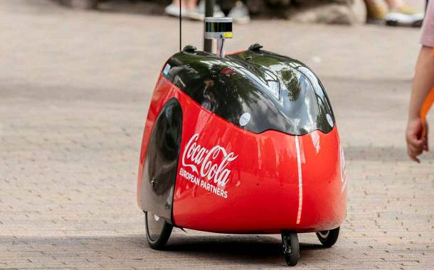 Coca-Cola trials robots to deliver beverages at UK theme park