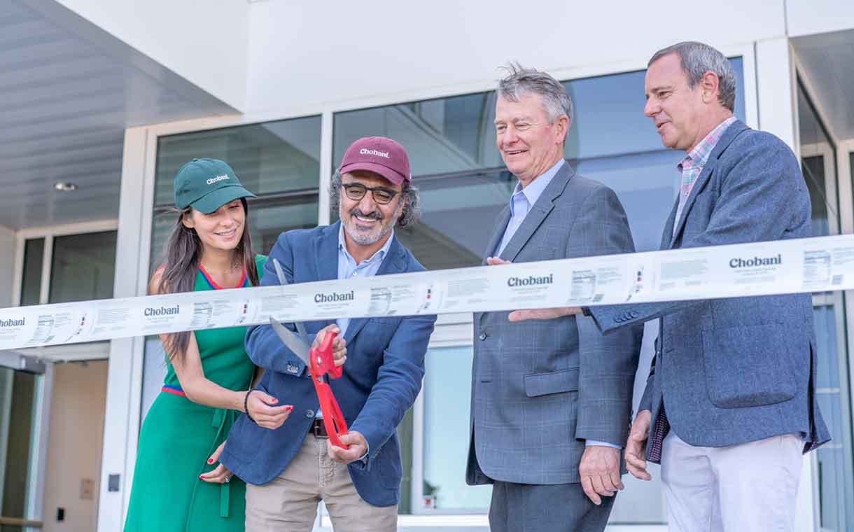 Chobani inaugurates innovation centre at Twin Falls yogurt plant