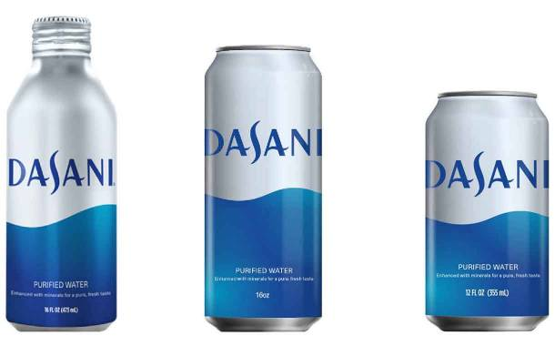 Coca-Cola to launch Dasani water in aluminium cans and bottles