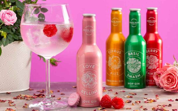 Eden Mill expands ready-to-drink gin cocktail line with Love Bellini