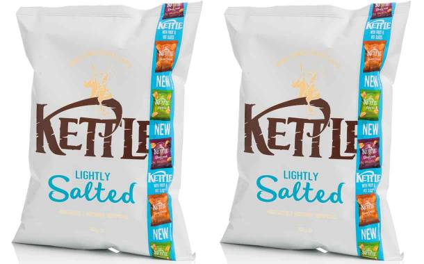 Kettle uses Essentra's Re:Close tapes to promote new crisp line
