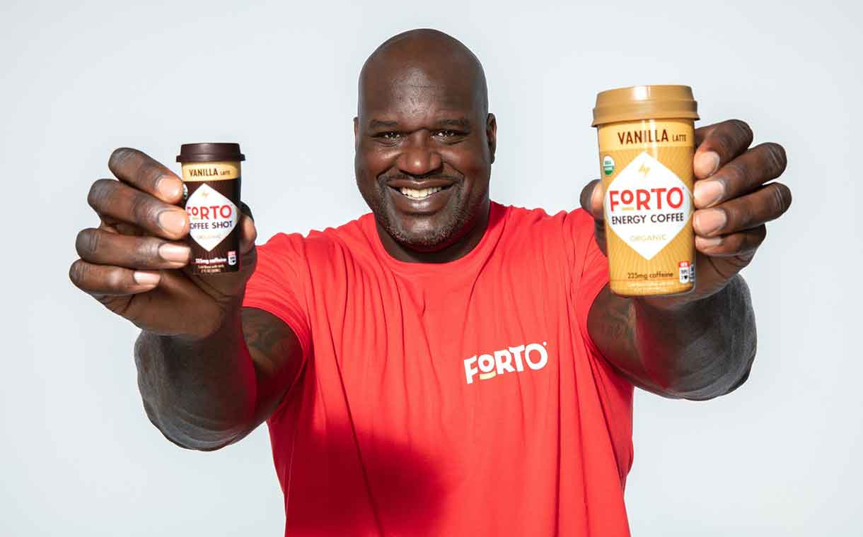 Shaquille O'Neal invests in Forto Coffee, becomes face of brand