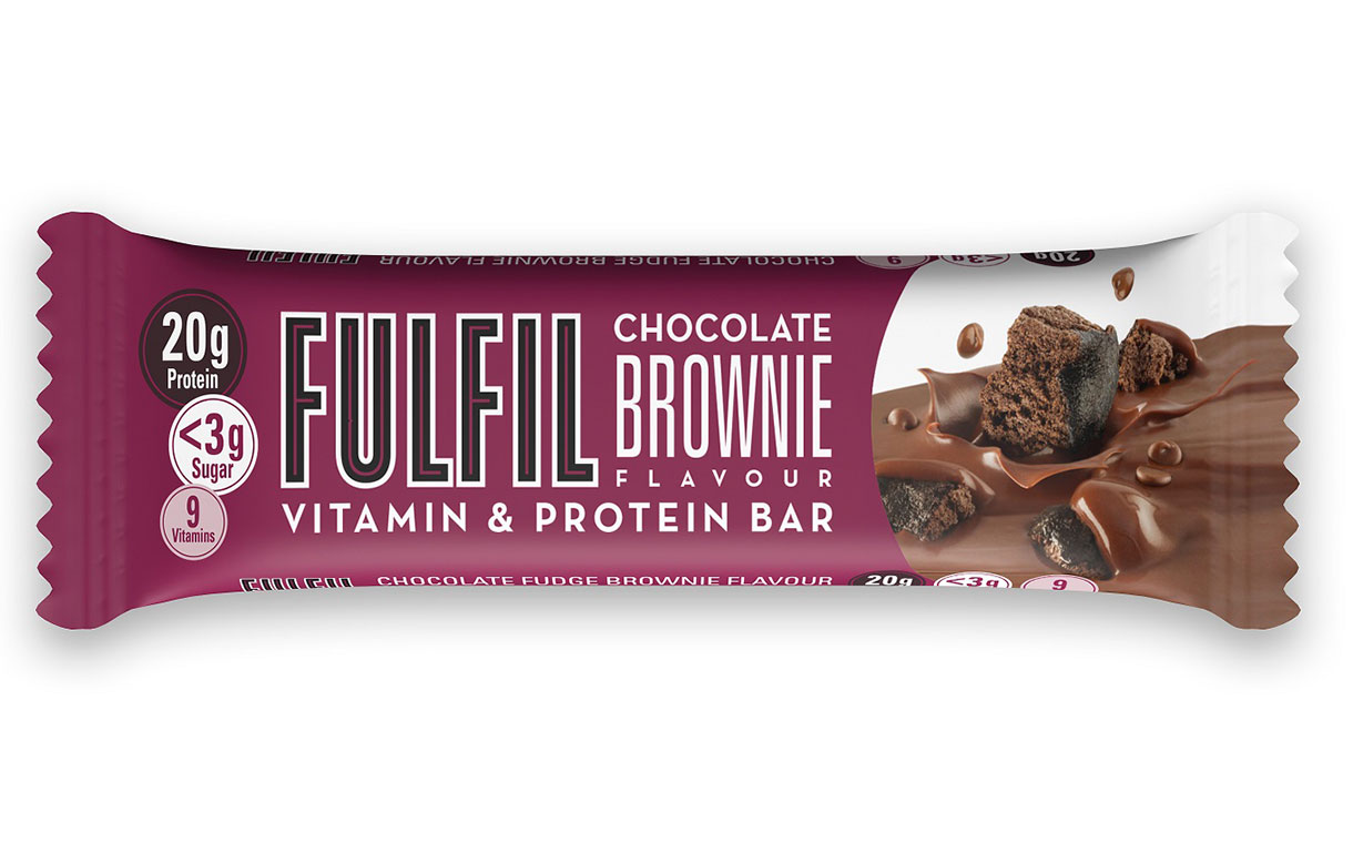 Fulfil expands protein bar range with chocolate brownie flavour
