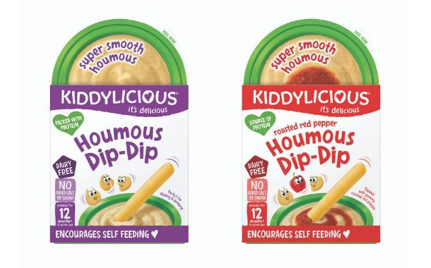 Kiddylicious releases first houmous dip for toddlers