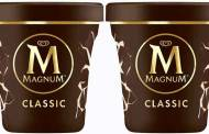 Unilever debuts Magnum tubs created from recycled plastic