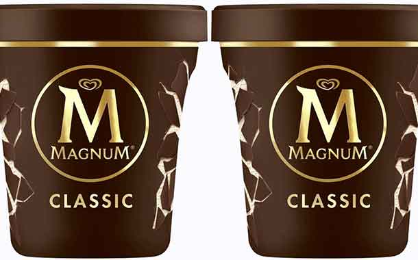 Unilever debuts Magnum tubs created from recycled plastic - FoodBev