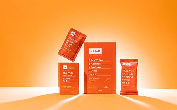 Rxbar unveils new pumpkin flavoured product in time for Autumn