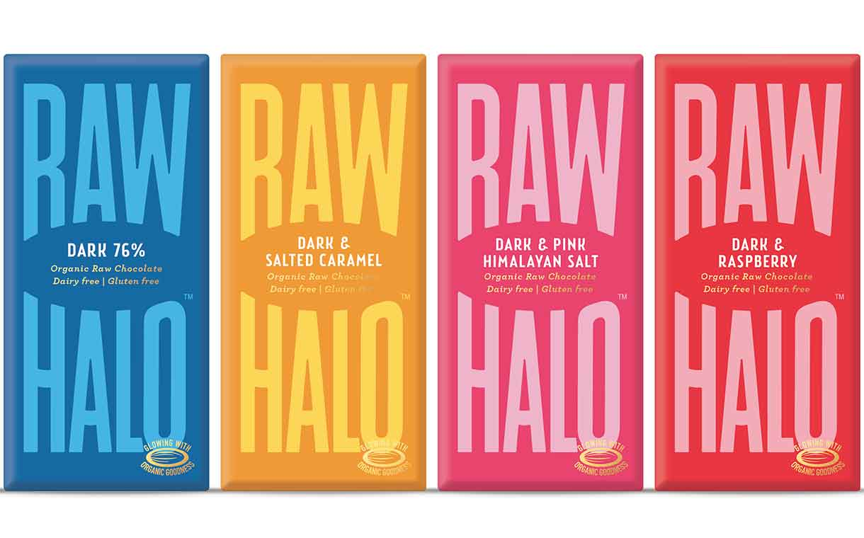 Raw Halo moves to plastic-free packaging, debuts new flavours